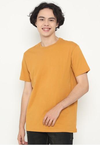 XTRAORDINARY (XO) orange Graphic Cotton Combed Fashion Tee F3BF4AA2BBF995GS_1