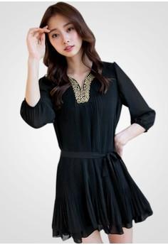[IMPORTED] Elegant Princess Dress - Black