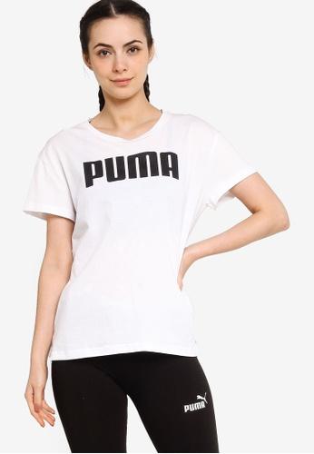 PUMA white RTG Logo Women's Tee 130C3AAB92E263GS_1