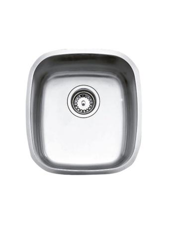 Teka Sink silver Stainless Steel Undermount Kitchen Sink BE.34.37 E5F76HLFDE7510GS_1