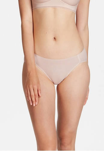 6IXTY8IGHT beige SERNA SOLID, No-show Micro Hipster 2-Pack Panty SL10174 E5673US2B2FBDDGS_1