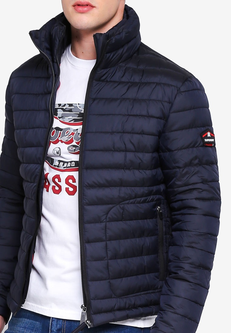 Jacket Fuji Navy Double Zip Superdry PqUxEEXv5n