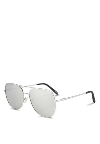 Quay Australia silver LIVING LARGE Sunglasses QU661GL0SHYCMY_1