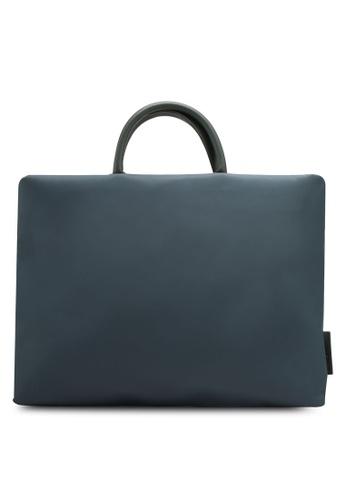 Bagstationz blue Lightweight Nylon 15.6 Inch Laptop Bag 42C98ACD53E0EAGS_1