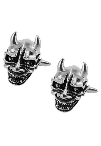 CUFF IT black Mask Cufflinks CU047AC2UQX8HK_1