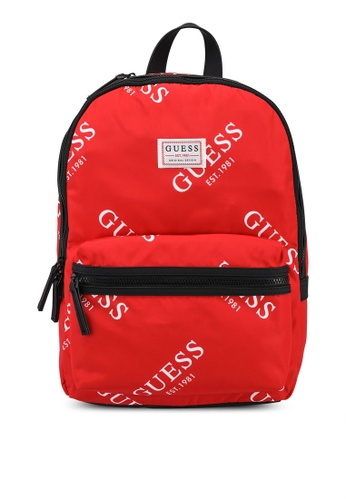 Guess red Originals Backpack 56C1BAC0C30964GS_1