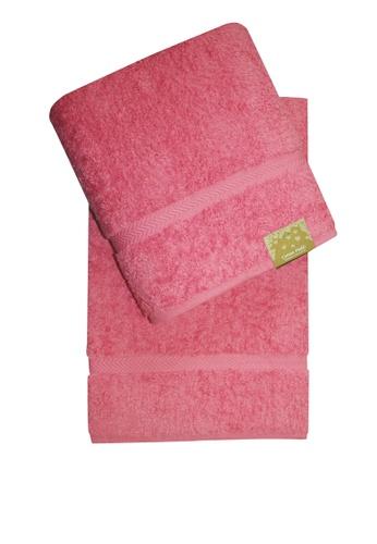 Cotton Fields pink Cotton Fields Bath Towel Plain 8AD7AHLFF96DF5GS_1