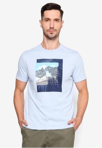 GAP blue Mountain Photo T-Shirt E02EFAAA60900CGS_1