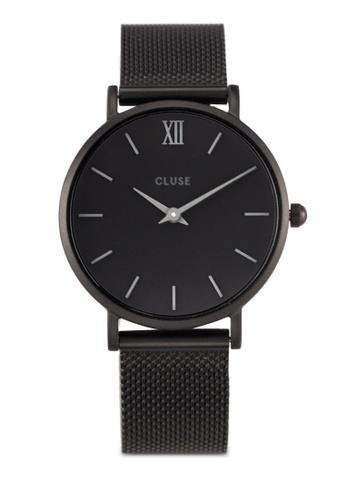 CLUSE black Minuit Mesh Full Black CL30011 Watch CL977AC0RDBSMY_1
