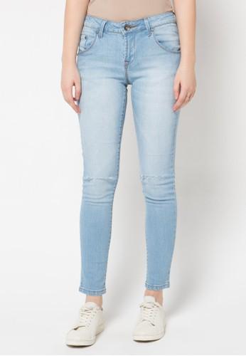DocDenim blue Ladies Jeans Alleina Cut Ripped DO336AA89LRIID_1