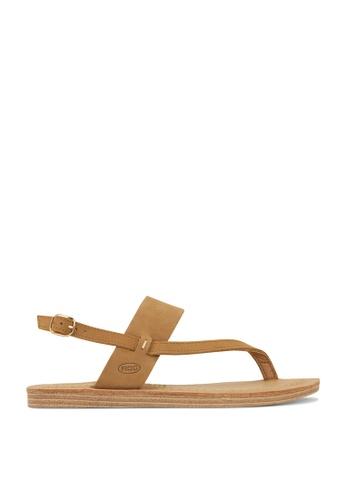 ROC Boots Australia brown Banyan Tan Sandal RO289SH25BQSSG_1