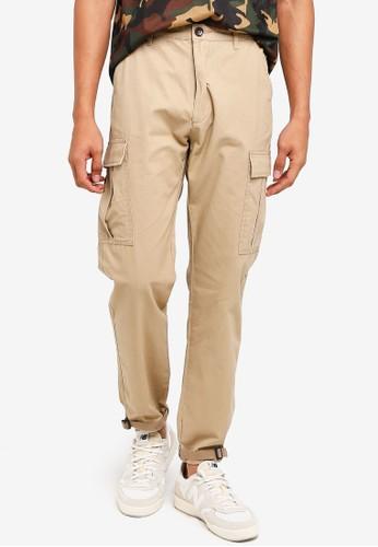 Sparrow Green beige Denzel Climber's Pants 5538FAA3614CE2GS_1