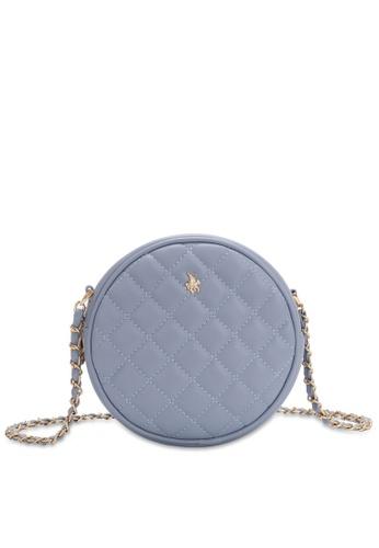 Swiss Polo blue Casual Crossbody Bag 2DB34ACDA01087GS_1