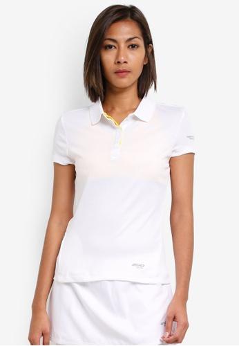 2GO white Tennis Polo Shirt 2G729AA0S5X4MY_1