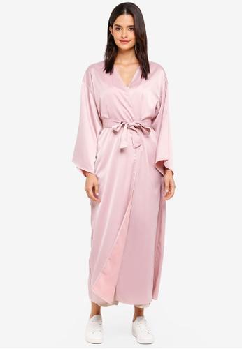 Zalia red Kimono Cardigan 7EE81AAC4C9977GS_1