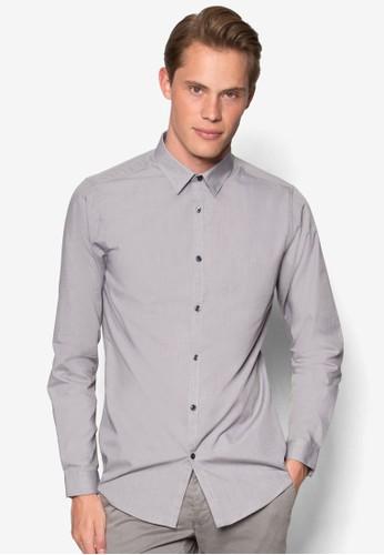 簡約休閒長袖襯衫, 服飾, esprit 兼職服飾