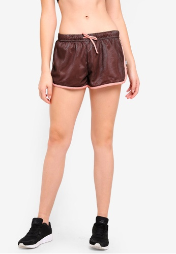 Cotton On Body brown Mesh Jersey Jogging Shorts 9F1EAAAEE8FE1DGS_1