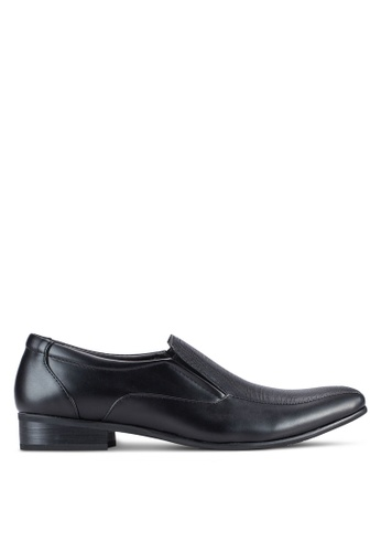 Knight black Business Shoes KN875SH97EQOMY_1