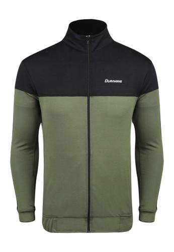 Duraking green Duraking Pique Stripes Jacket Army Green 252B5AACE69DFFGS_1