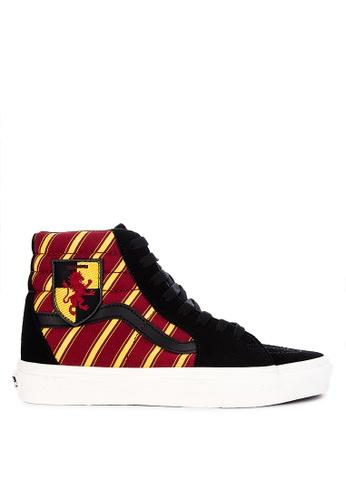 0a0c63bba Shop Vans Harry Potter Gryffindor SK8-Hi Sneakers Online on ZALORA  Philippines