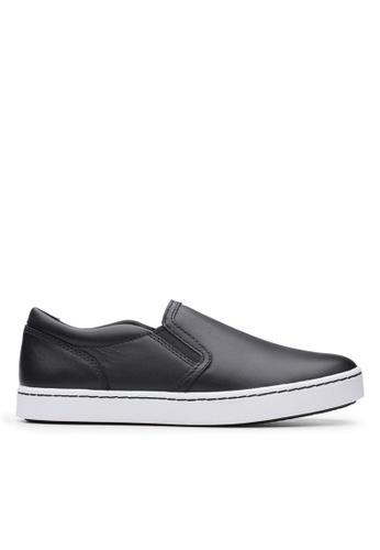 Clarks CLARKS Pawley Bliss Black Leather Women's Sport Shoes 1D4C3SH7925E65GS_1