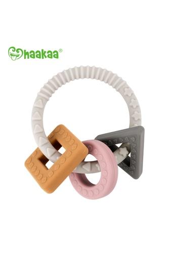 Haakaa Haakaa Silicone Teething Ring 86FFBES9FE4117GS_1