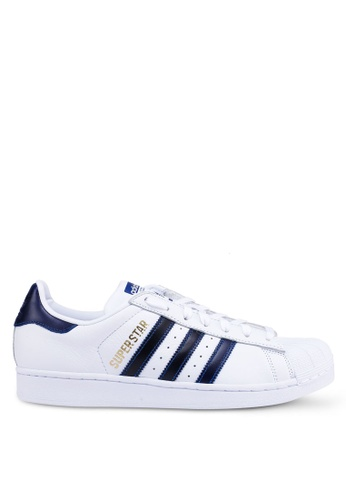 adidas white adidas originals superstar 7B646SH0218322GS_1