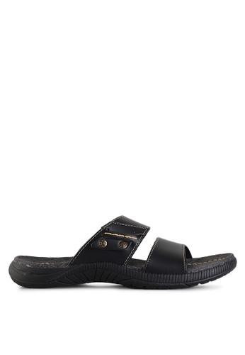 Homyped black Sigra 02 Men Sandals HO842SH37GZEID_1