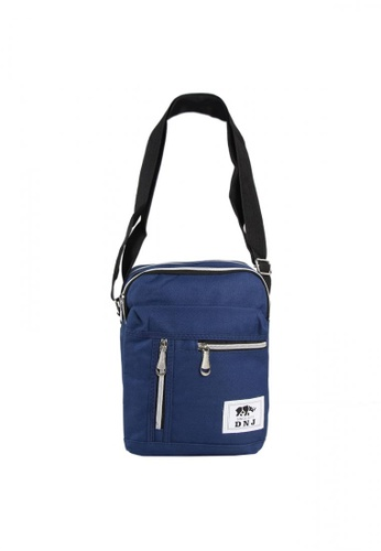 DNJ blue Sling Cross Body for Men DN487AC0K8J8PH_1