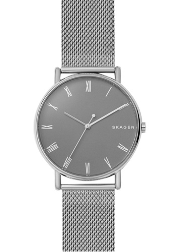 Skagen grey and silver Skagen Signatur Silver Watch SKW6428 SK533AC0SM83MY_1