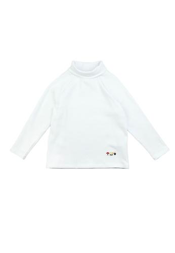 Vauva white Vauva Kids Basic Turtleneck Top - White E1527KAB64F494GS_1