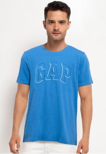 Gap blue Raised Arch Tee 0AC70AAD48F564GS_1