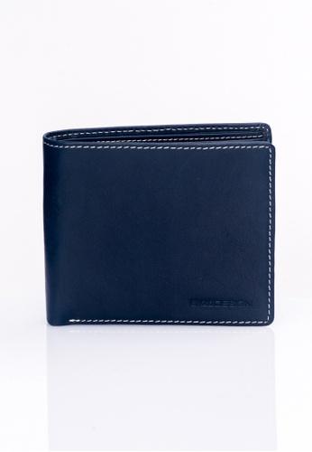 ENZODESIGN navy Italian Leather Coin Box Wallet EN357AC0F599SG_1