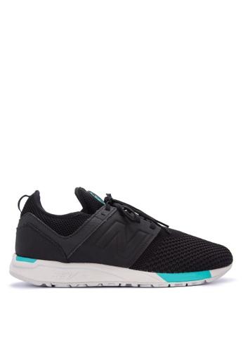 New Balance black 247 Sport Sneakers F6185SHDDF16D0GS_1