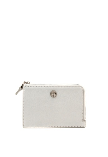 Enjoybag white Alice Leather Multifunction Wallet EN763AC2VPCIHK_1