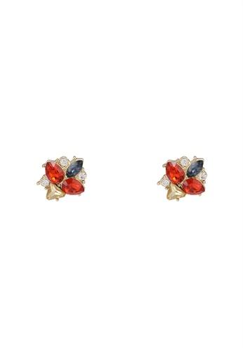 niko and ... red Rhinestone Earrings 5F5EAAC2B78062GS_1
