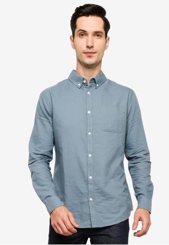 Cotton On blue Brunswick Shirt 3 3203CAA87EDEBCGS_1