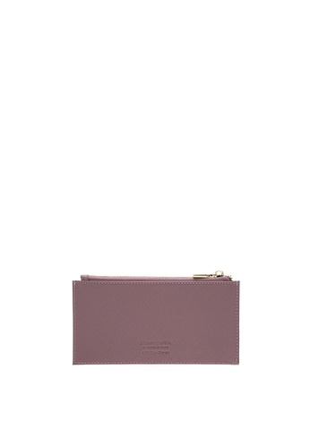SEMBONIA pink SEMBONIA Genuine Leather Pouch (Pastel Pink) 74423AC089E73BGS_1