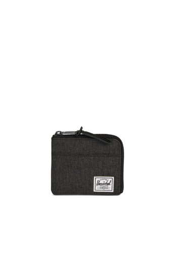 Herschel black Herschel Johnny Black Crosshatch 38811AC3C290BEGS_1