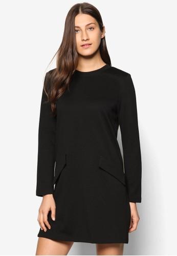 Collectesprit暢貨中心ion 針織長袖連身裙, 服飾, 洋裝