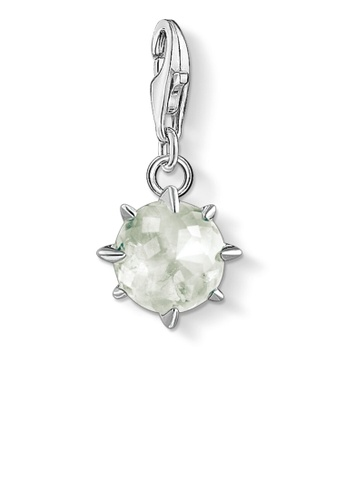 THOMAS SABO white Charm Pendant Birth Stone August 4CFB3ACF8D62B4GS_1