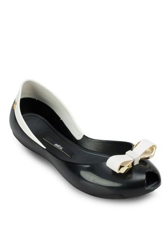 Queen IV 蝴蝶結平底鞋、 女鞋、 芭蕾平底鞋MelissaQueenIV蝴蝶結平底鞋最新折價