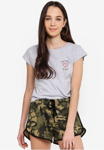 Cotton On grey Tbar Rachael Graphic T-Shirt 8A9BDAA7FF0658GS_1