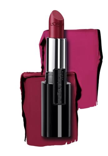 L'Oréal Paris purple L'Oreal Paris Infallible Le Rouge Lipstick - 737 Persistent Plum 26605BE4B0884EGS_1