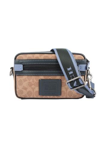 Coach brown Coach Academy Crossbody Bag in Brown FDFD4AC7C31E6BGS_1