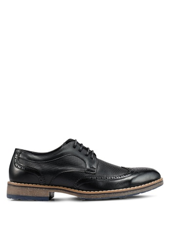 Bata black Lace-Up Business Shoes A7F8DSH2D324BFGS_1