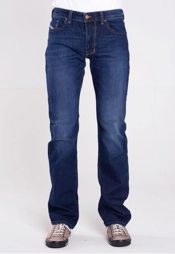 Diesel blue LARKEE L.34 PANTALONI Straight Cut Jeans 73A08AA7865AC1GS_1