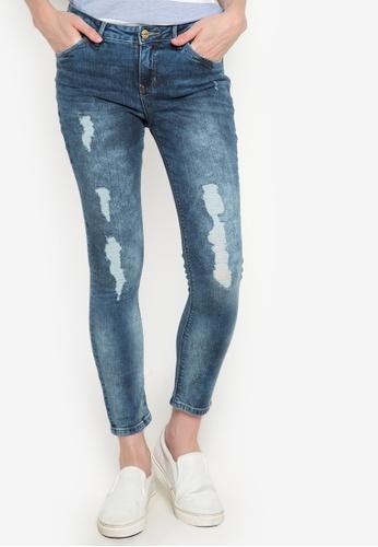 Bobson blue Low Waist Skinny Tapered Denim Pants BO748AA18SDPPH_1