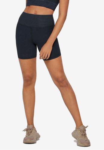 Lorna Jane navy Ultimate Rib Bike Shorts CEAEBAA0F3B018GS_1