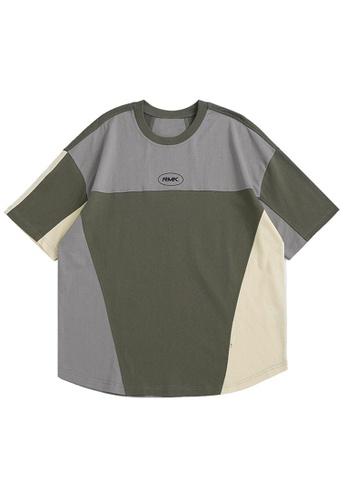 Twenty Eight Shoes Contrast Printed Short T-shirt 1593S21 DC613AA14E1ECEGS_1